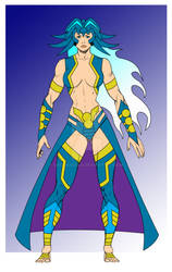 Arnemetia, Goddess of Water and the Sea