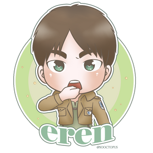 Sticker Eren by shirayama