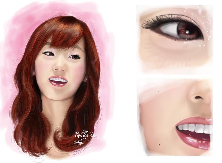 رسومات snsd Digital_painting_snsd_taeyeon_by_landycakep