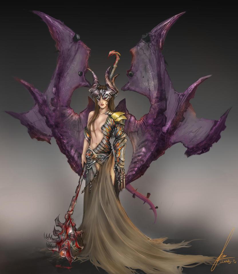 darksiders samael by landycakep on DeviantArt