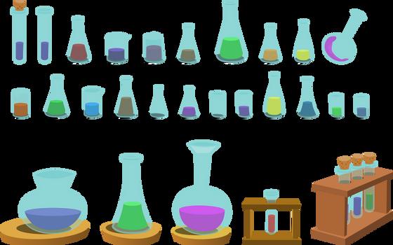 Resource: Bottles by dervonnebenaan