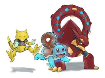 Poke-donuts by Articu
