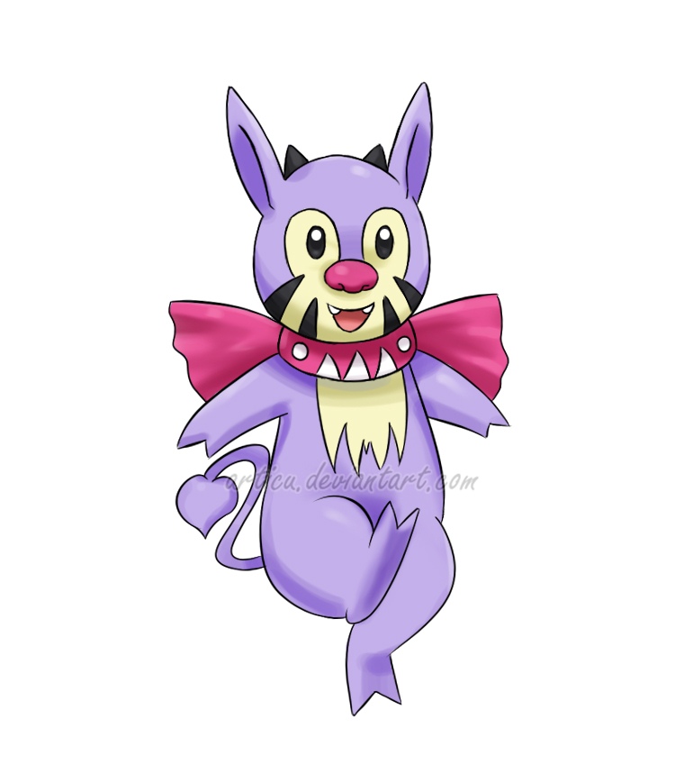 43 Poshion - Nu Pokemon 2 by Articu