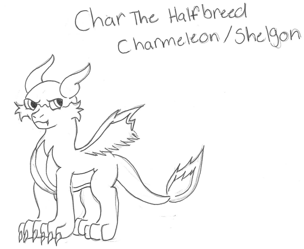 Char The Halfbreed Charmeleon Shelgon by wasfight17