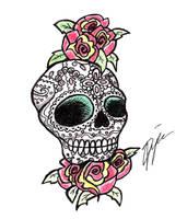 Sugar Skull by Psy-FeA