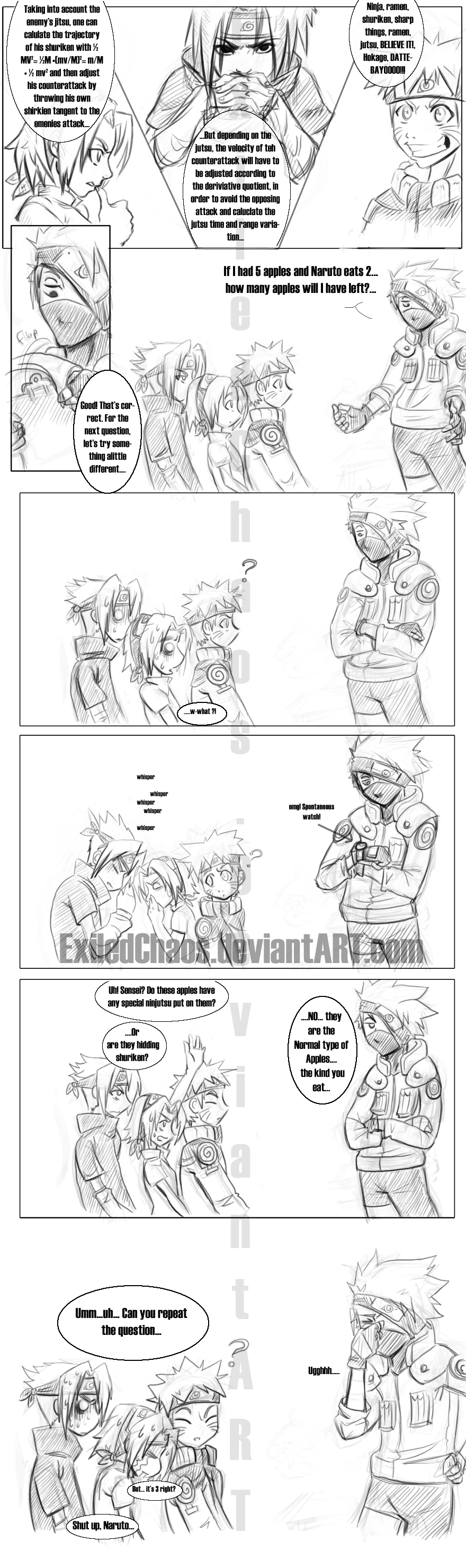Naruto: School of Ninja? by ExiledChaos
