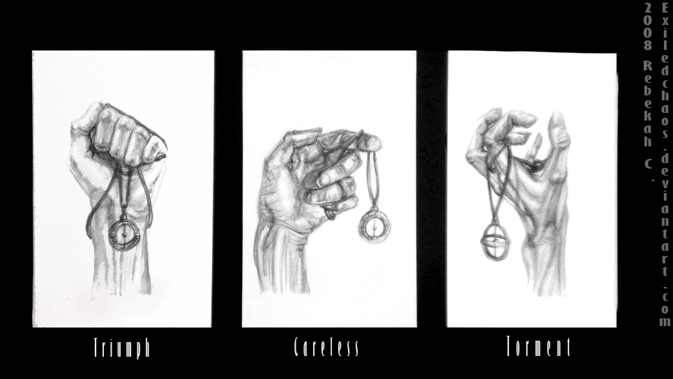 Hand Emotions by ExiledChaos
