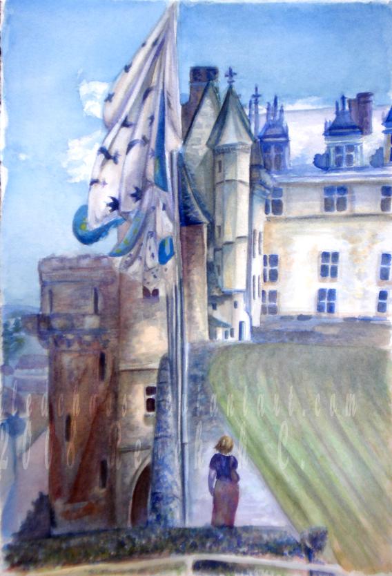 .:Chateau d'Amboise:. by ExiledChaos