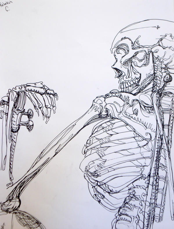 Single Line Skeleton by ExiledChaos
