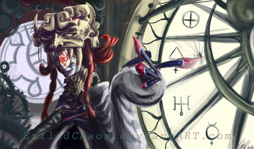 .:LunarHoax: Ill Omen-Doppel:. by ExiledChaos