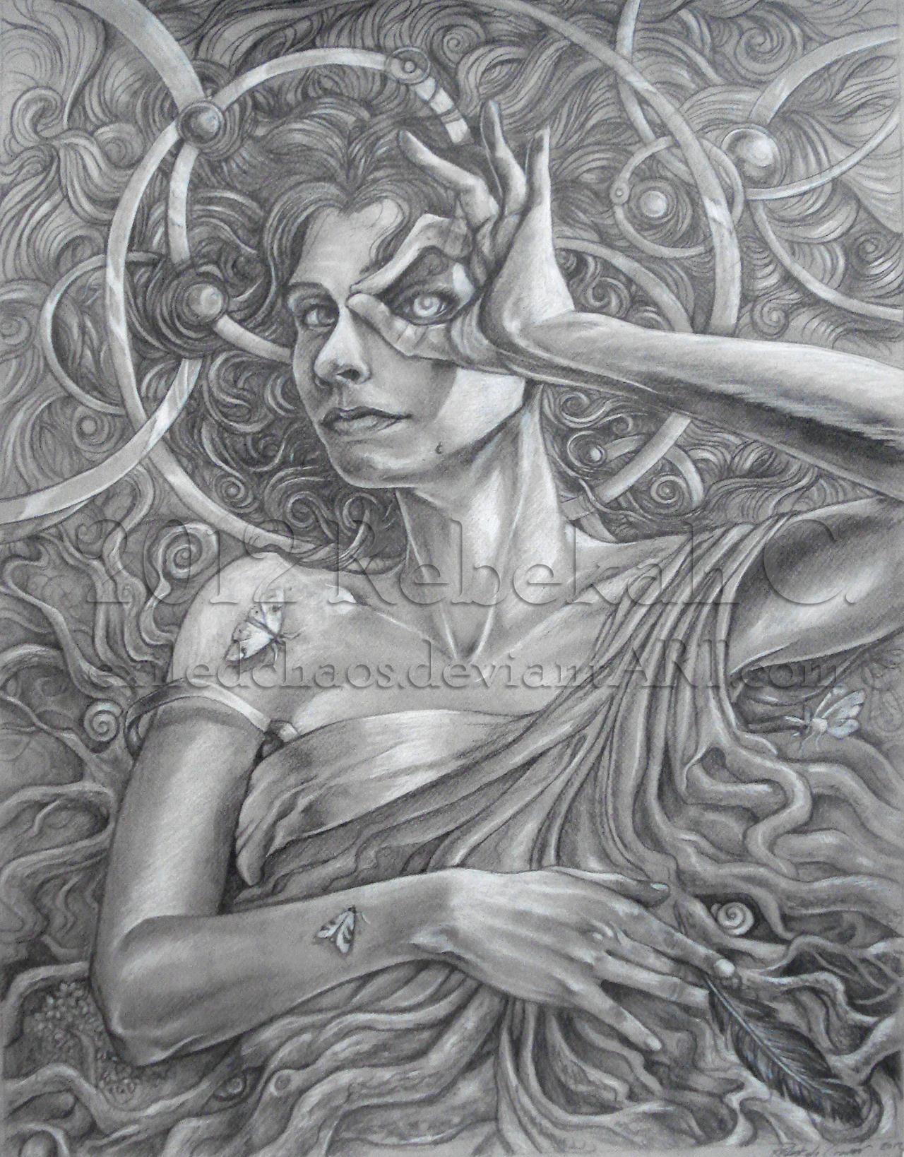 Self Portrait: Earth Dream by ExiledChaos