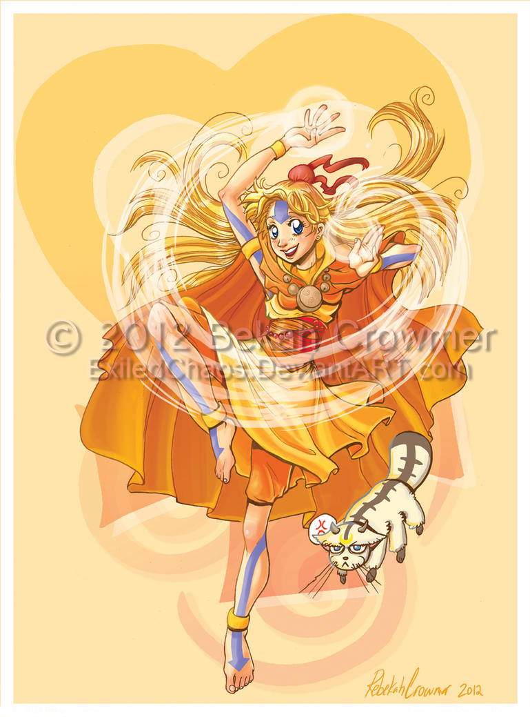 Sailor Avatar: Airbender Minako by ExiledChaos