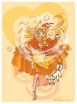 Sailor Avatar: Airbender Minako by ExiledChaos