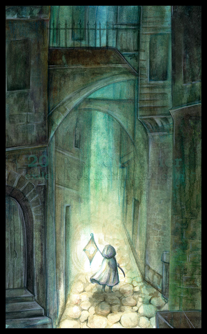 WtOT : Dark Alleyway by ExiledChaos