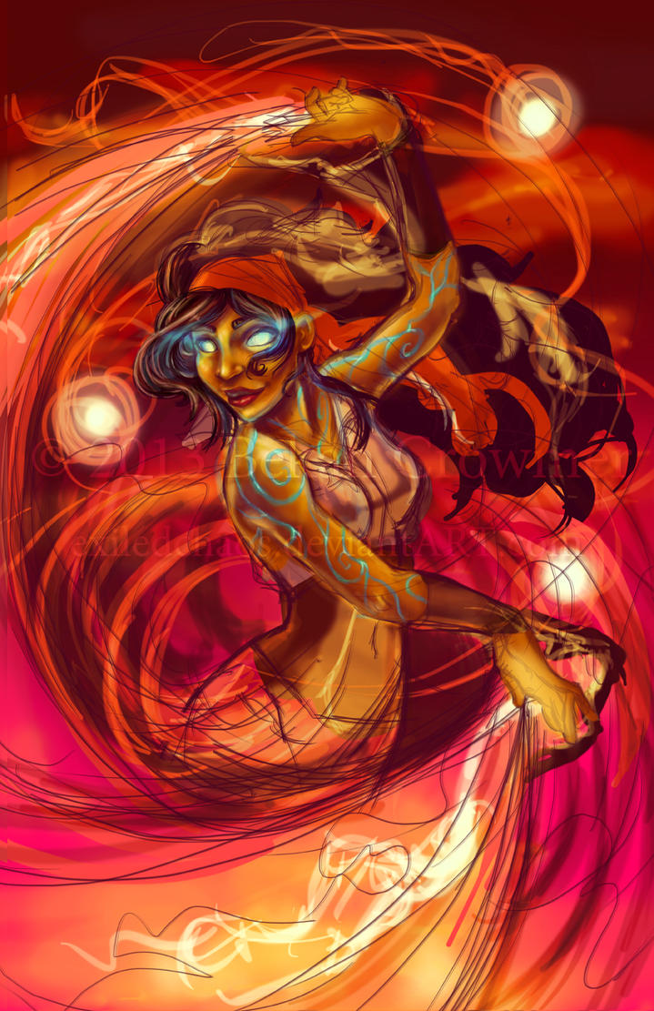 Firedancer - wip by ExiledChaos