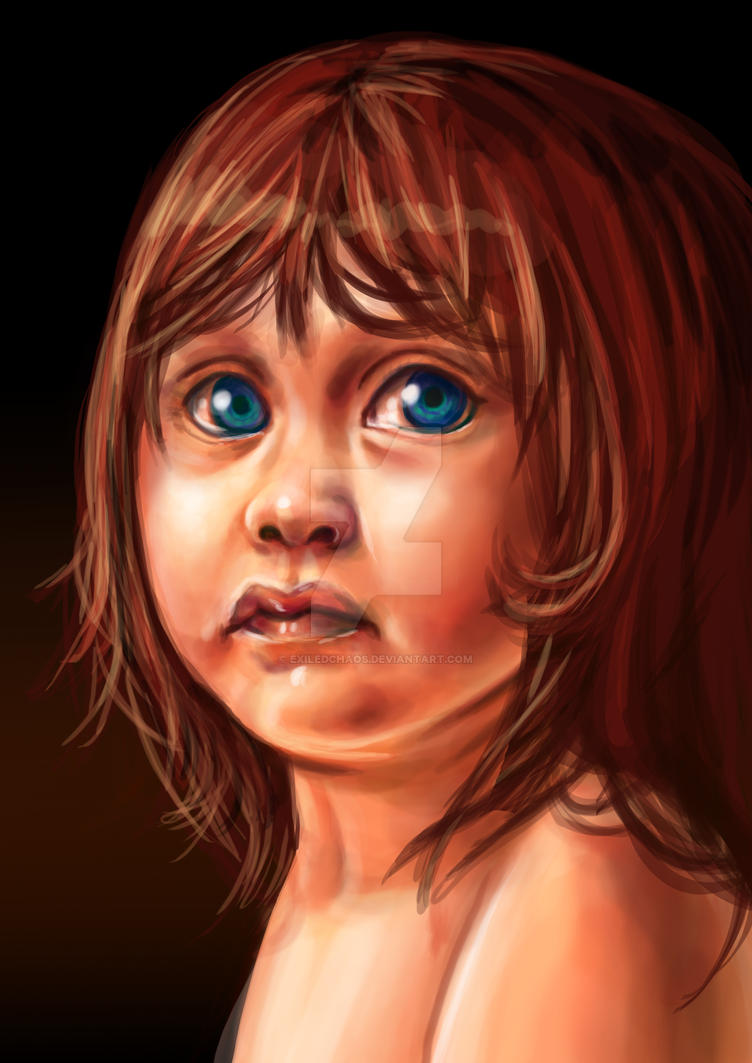 Child Speedpaint Practice by ExiledChaos