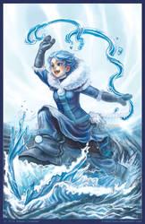 Sailor Avatar - Waterbender Ami V2 by ExiledChaos
