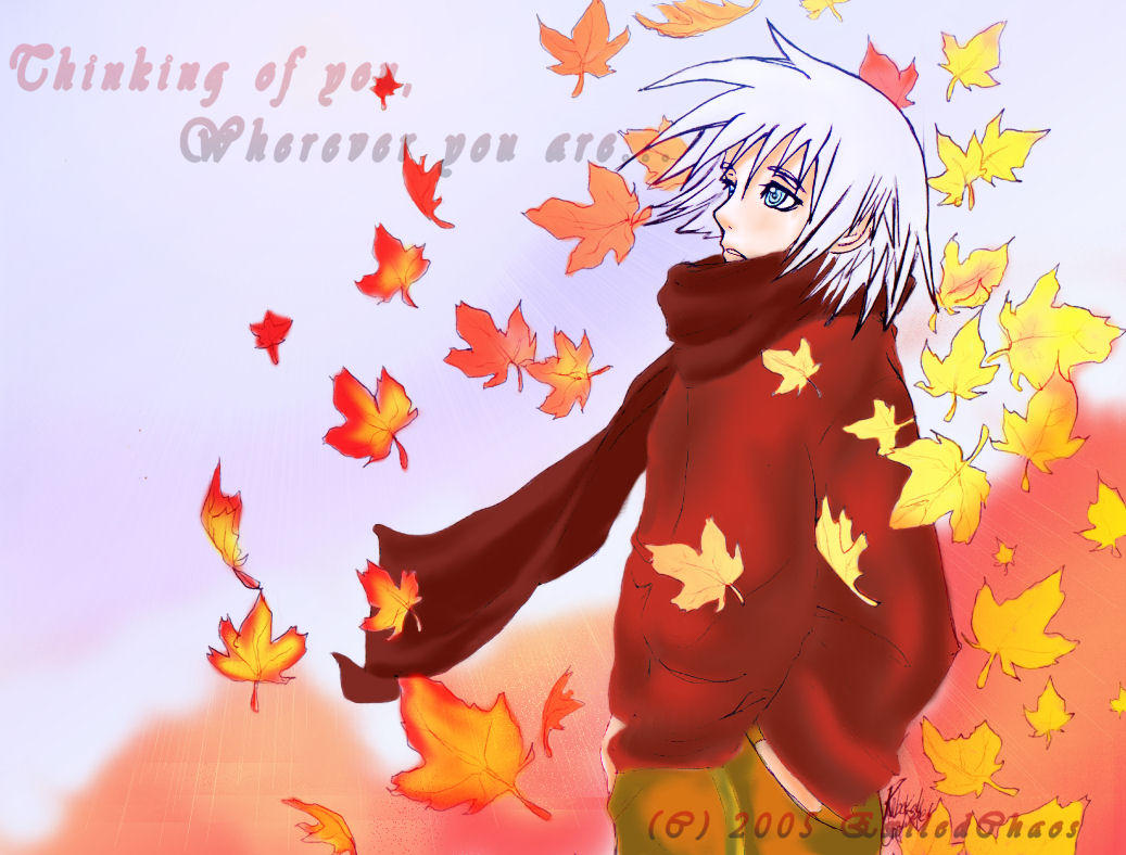 .::Fall-Time Riku::. by ExiledChaos
