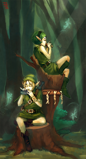 - minuet of the forest - by Kanoe-v2
