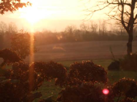 Sunrise in Moffat