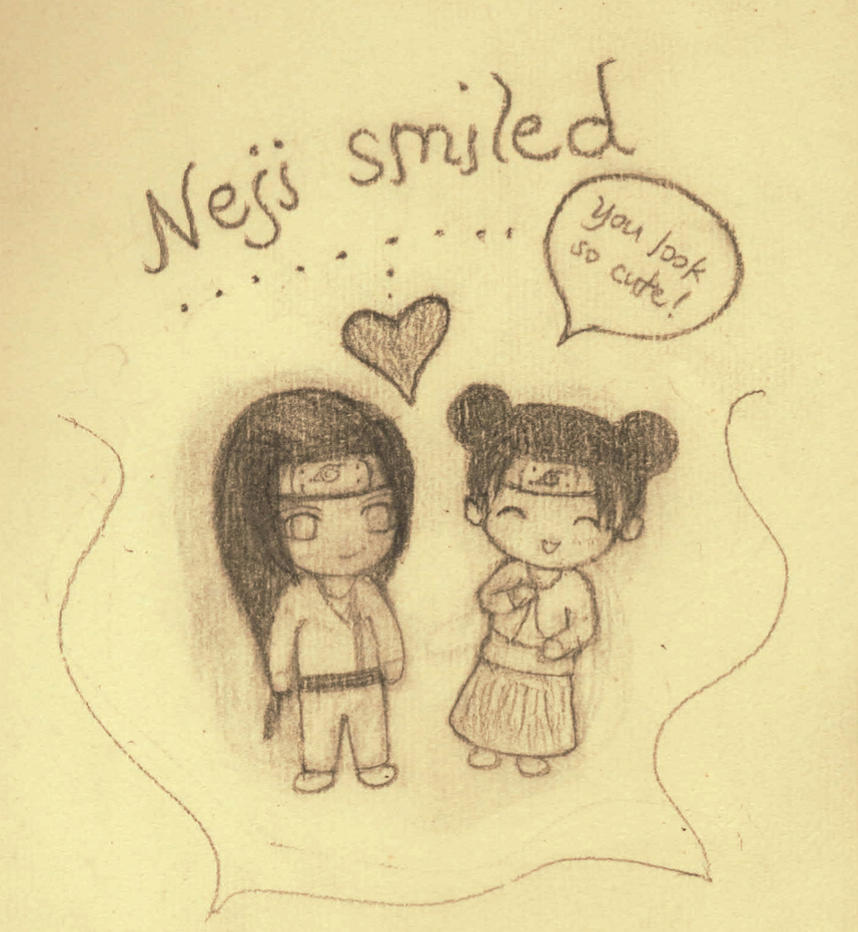 The Neji Smile Technique by Marniebright on DeviantArt