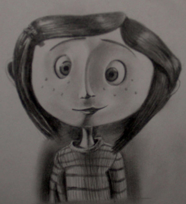 Coraline Button Eyes Drawing 76275