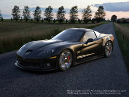 Corvette ZR1 by Akchilug
