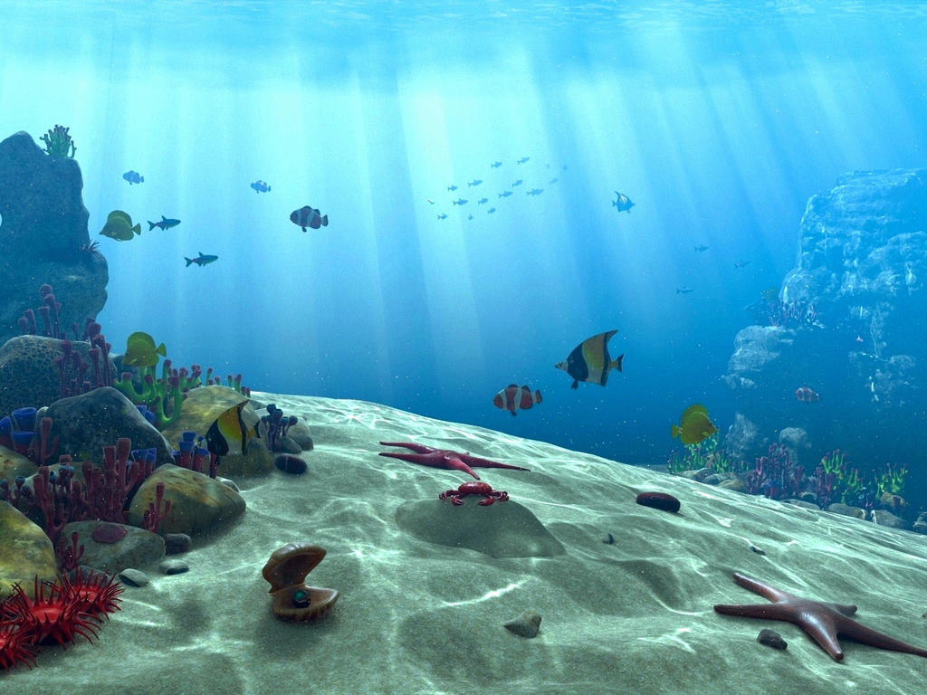 underwater sceneakchilug on deviantart