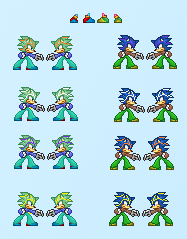 new sprite by thedraognmaster