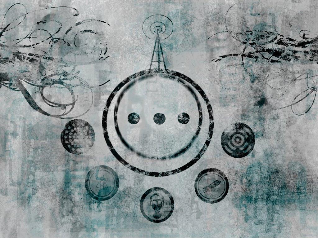 Retro Sci Fi Graphic Wallpaper By Gregoriousone