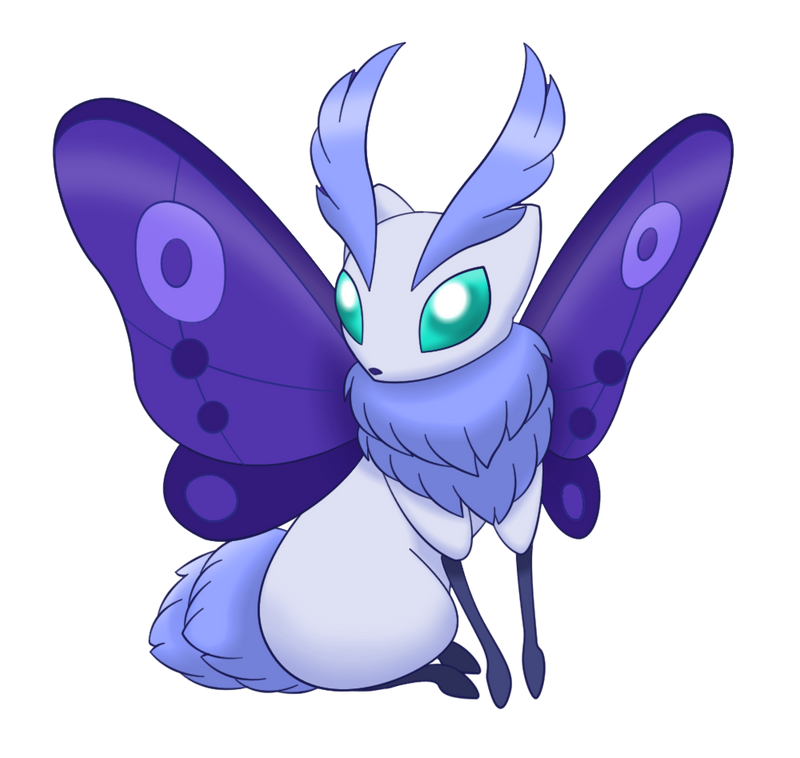 Fakemon Eeveelution: Silkeon by Lichtdrache on DeviantArt