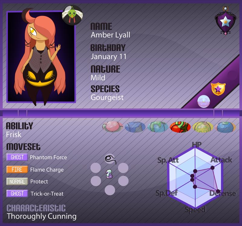 PKMN Armonia App: Amber Lyall by Lichtdrache