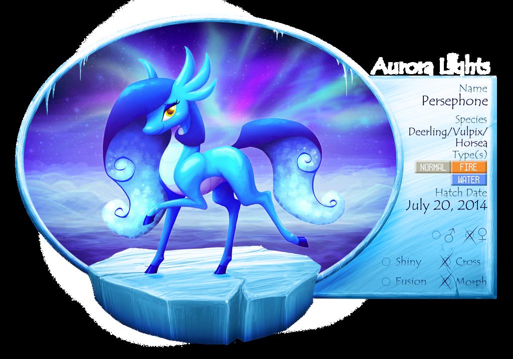 Aurora Lights: Persephone by Lichtdrache