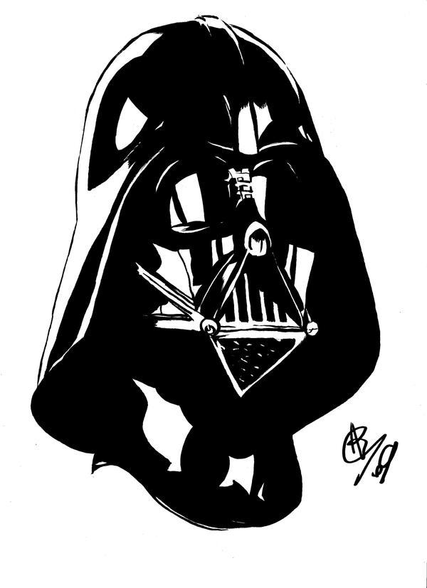 Darth Vader Mask Drawing Darth Vader Mask 01 by