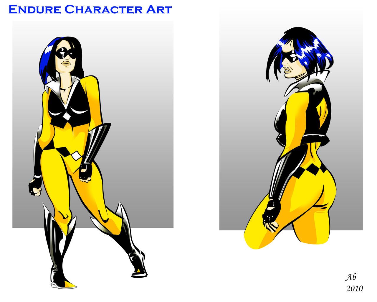 Endure_character art01 by AlexBaxtheDarkSide