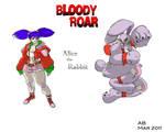 Bloody Roar_Alice the rabbit