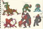 resident Evil 1_2_3 monsters 02