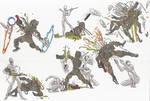 Dr Who_Raston Warrior Robot VS Cybermen_02_may2012