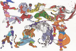 Bloody Roar_Doodles04_may2012 by AlexBaxtheDarkSide
