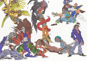 Bloody Roar_Doodles05_may2012 by AlexBaxtheDarkSide