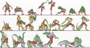 Bloody Roar_Busuzima_Chameleon_Transformation_2012