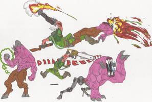 Doom_Doodles_01_2012 by AlexBaxtheDarkSide