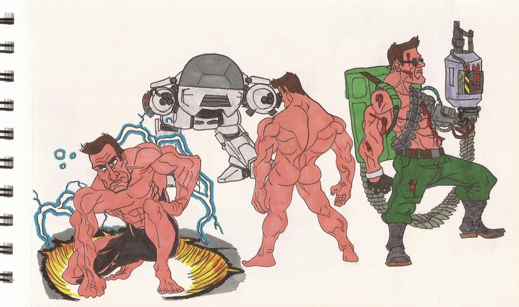 RoboCop VS The Terminator_02_July2012 by AlexBaxtheDarkSide