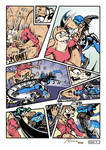 Mink vs Snake_May20_PG09_Commission Comic by AlexBaxtheDarkSide