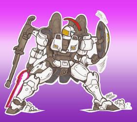 Gundam Tallgeese Doodle 01_Oct2020