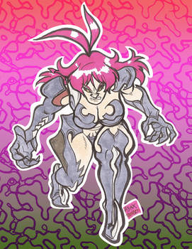Witchblade anime doodle 01 jan2021