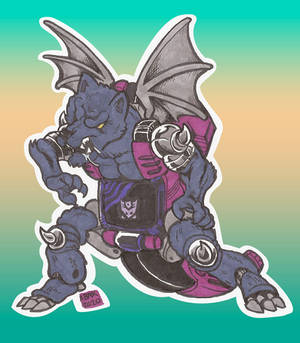 TF Fangry Wolf-Bat Mode Doodle 01_Jan2021