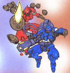 GundamWing_Mercurius X Vayeate_Doodle 01_Apr21 by AlexBaxtheDarkSide