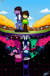 Deltarune: The World Reflecting. by GSVProductions