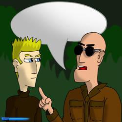 Joe vs Jarvis by kouji82